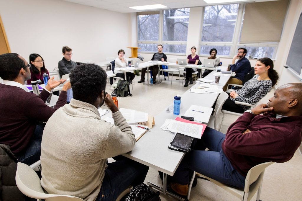 Classroom at Sewell Social Sciences Building