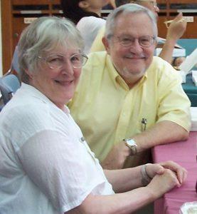Bob and Tess Hauser, investigators on the Longitudinal Study