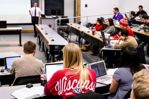 UW-Madison classroom lecture